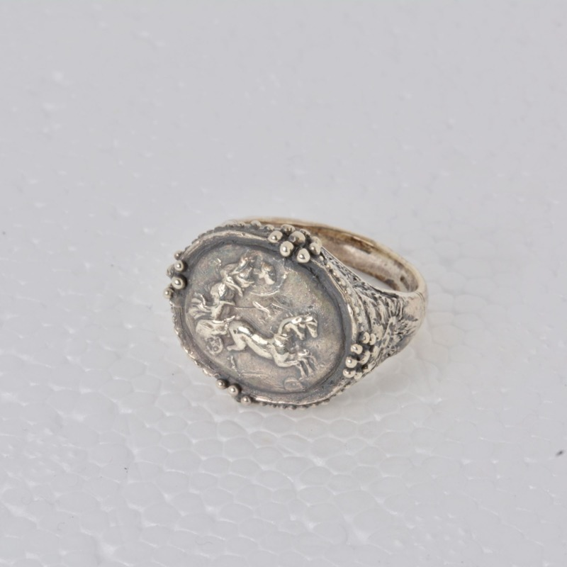 925-silver-roman-chariot-ring