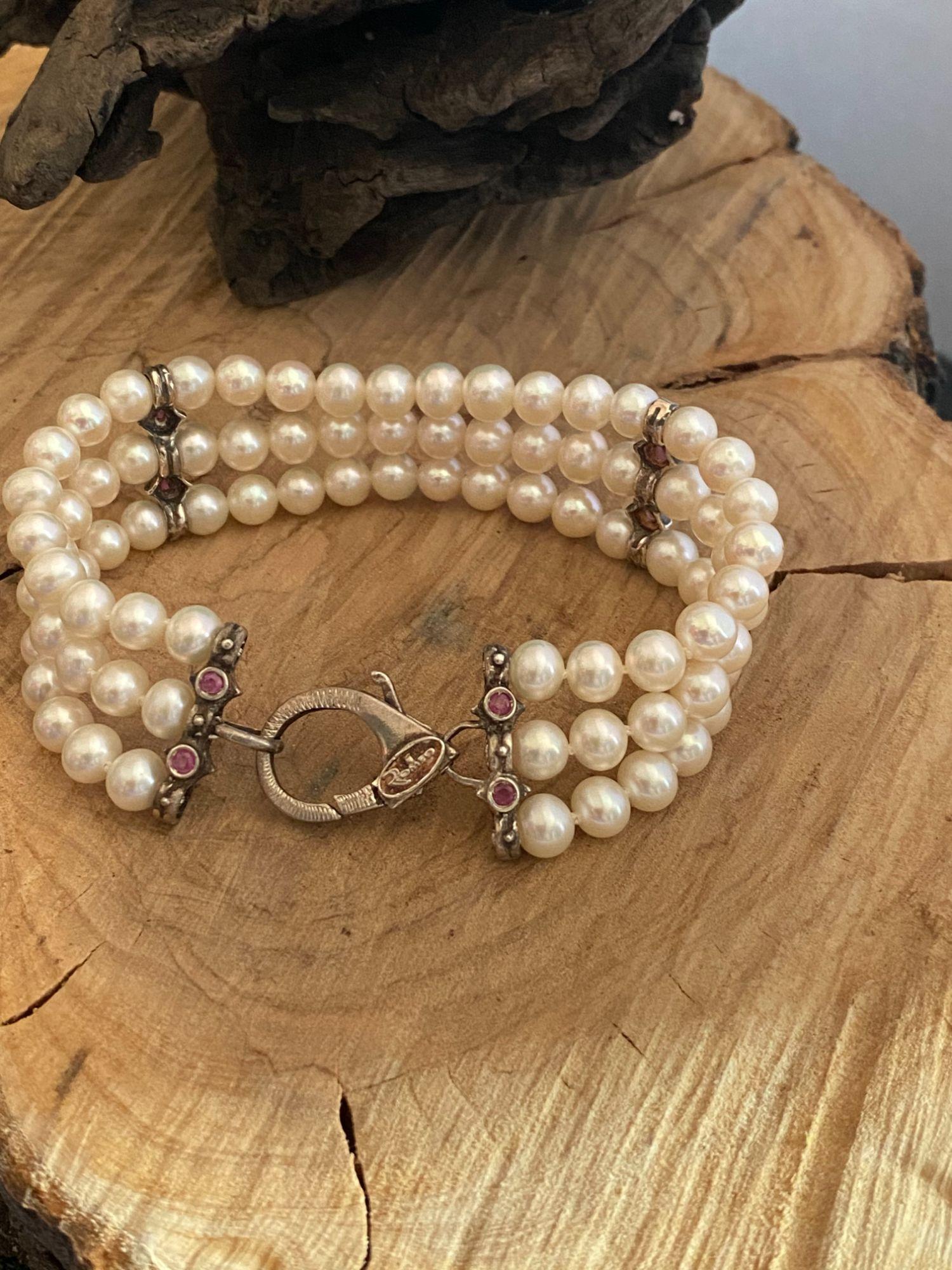 bracciale-romeo-alla-schiava-di-perle-argento-925-e-rubini-md-5147